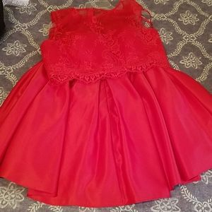 Dave&Johnny 15/16 RED 2pc Dress
